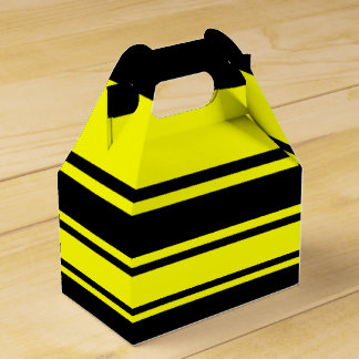 Bumblebee Stripes Favor Box