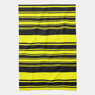 Bumblebee Stripes Hand Towel