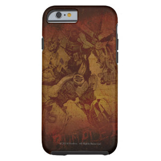 Bumblebee Stylized Canvas Etch Tough iPhone 6 Case