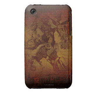 Bumblebee Stylized Canvas Etch iPhone 3 Cover