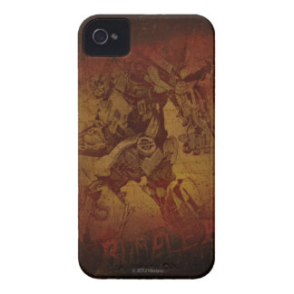Bumblebee Stylized Canvas Etch iPhone 4 Case