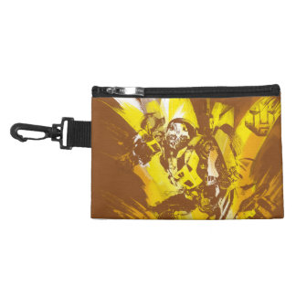 Bumblebee Stylized Paint Strokes Accessory Bags