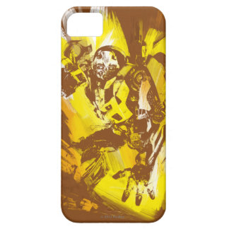 Bumblebee Stylized Paint Strokes iPhone 5 Covers