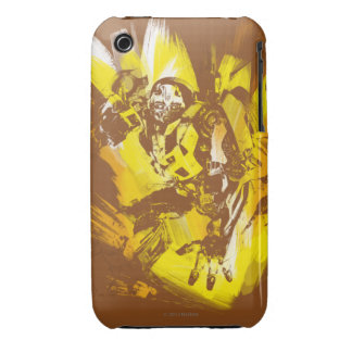 Bumblebee Stylized Paint Strokes iPhone 3 Case-Mate Case
