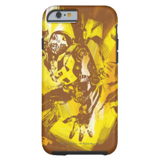 Bumblebee Stylized Paint Strokes Tough iPhone 6 Case