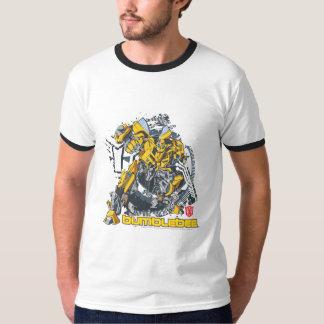 Bumblebee TF3 Badge Distressed Shirt