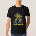 Bumblebee TF3 Badge Distressed T Shirt
