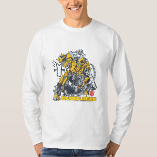 Bumblebee TF3 Badge Distressed T-Shirt