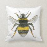 Bumblebee Throw Cushion Throw Pillow