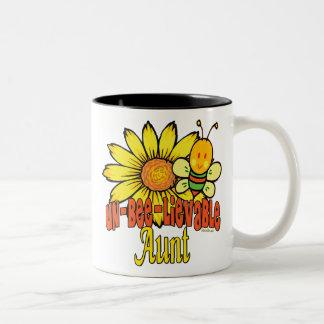 Bumblebee Unbelievable Aunt Coffee Mugs