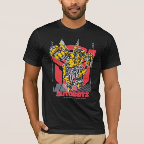 Bumbleebee Badge Autobots T_Shirt
