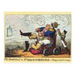 Bumblehead viejo tarjetas postales