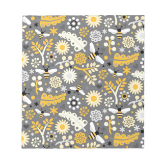 Bumbles and Blooms Notepad
