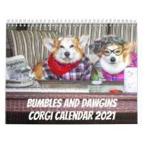 Bumbles and Dawgins 2021 Calendar