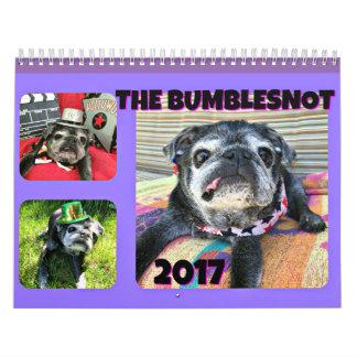 Bumblesnot 2017 Calendar