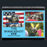 "Bumblesnot 2018 Memorial Calendar<br><div class=""desc"">Although The Bumblesnot crossed the Rainbow Bridge this year, we wanted to remember how much joy and happiness he brought throughout the year (and throughout his life with us) with this Memorial Calendar. 12 full color photos and special &quot;Bumblebyes&quot; to commemorate a senior Pug life lived very well. We love...</div>"
