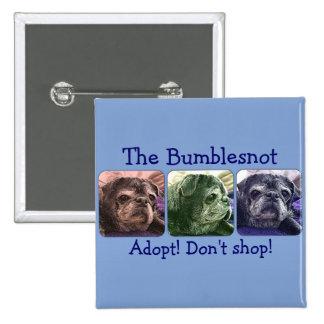 Bumblesnot button: Color Me Bumble Pinback Button