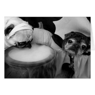 Bumblesnot Halloween card: Something Brewing Card