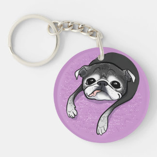 Bumblesnot Memorial acrylic keychain