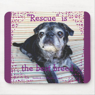 Bumblesnot Mousepad: Rescue is the Best Breed Mouse Pad