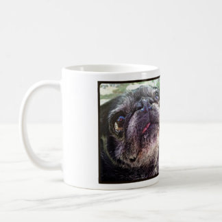Bumblesnot Mug: Happiness is a rescued pet! Coffee Mug