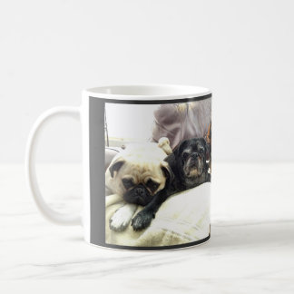 Bumblesnot mug: Here Comes Trouble Coffee Mug