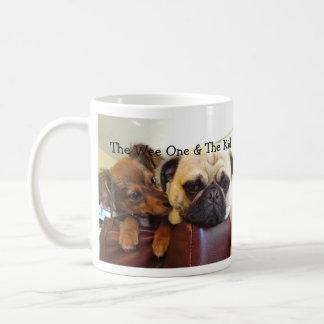 Bumblesnot mug: What's Up, Pug? Coffee Mug