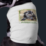 """Bumblesnot Pet Shirt: Bumble Love Shirt<br><div class=""""desc"""">Let your pet show his Bumble Love with this cute pet shirt. Available in several colors and styles.  We donate all proceeds to pet rescue.</div>"""
