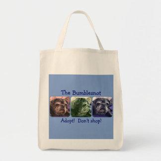 Bumblesnot tote bag: Color Me Bumble