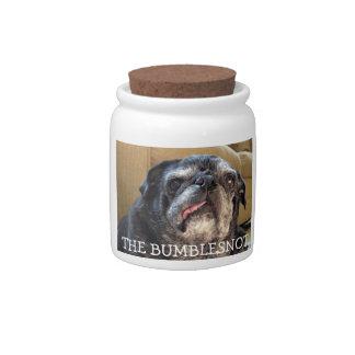 Bumblesnot treat jar: Got treats? Candy Jar