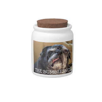 Bumblesnot treat jar: Got treats? Candy Jars