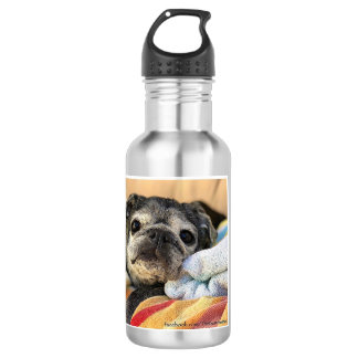 Bumblesnot water bottle: Rescue is the best breed! Water Bottle