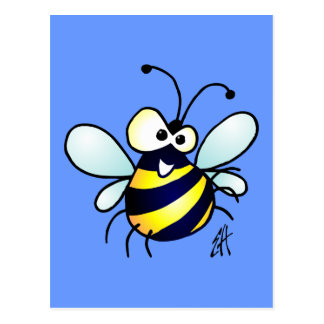 Bumbling Bee Postcard