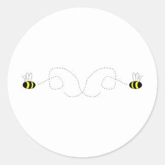 Bumbling Bumble Bees Sticker