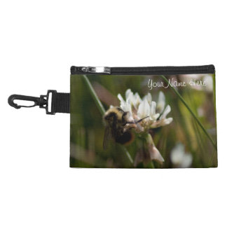 Bumbling in the Clover; Customizable Accessories Bag