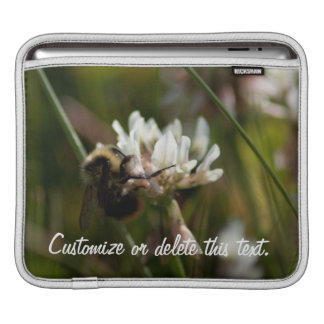 Bumbling in the Clover; Customizable Sleeve For iPads
