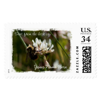 Bumbling in the Clover Postage
