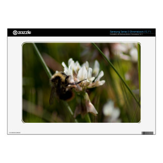 Bumbling in the Clover Samsung Chromebook Decal