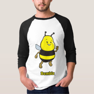 Bumblz Basic 3/4 Sleeve Raglan T-Shirt