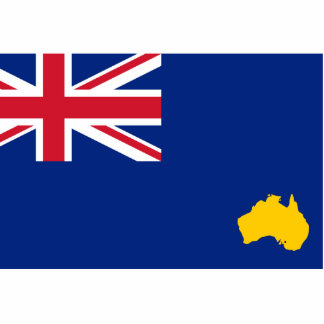 Bumbunga, Australia flag Cut Out
