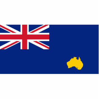 Bumbunga, Australia flag Photo Cutout