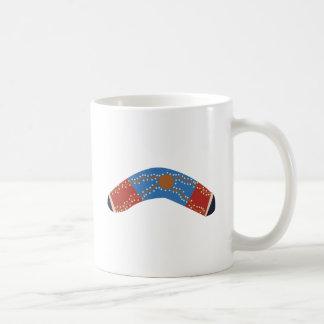 Bumerán australiano taza