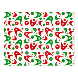 Bumeranes adaptables del navidad postal