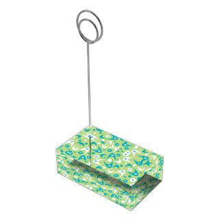 Bumeranes retros adaptables soporte para tarjeta de mesa