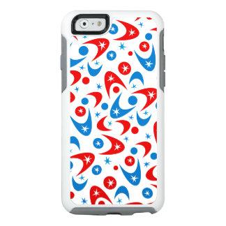 Bumeranes retros y Starbursts Funda Otterbox Para iPhone 6/6s