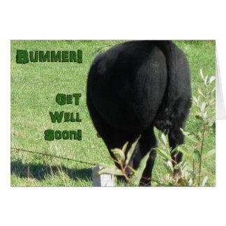 Bummer-Get Well Soon Greeting Card