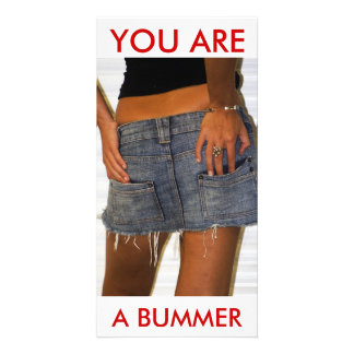 Bummer Photo Card