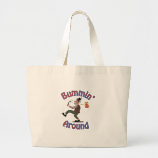 Bummin Around Large Tote Bag