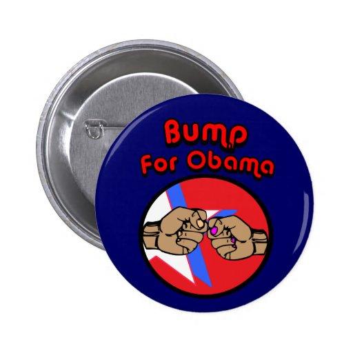 Bump For Obama 2 Inch Round Button