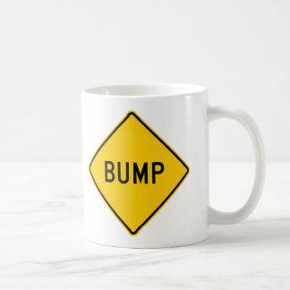 Bump Highway Sign (Word) Mugs